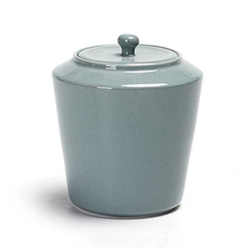 Urne Tierurnen Bestattung Asche Urnen Keramik Feuchtigkeitsbeständige Handgefertigte Urna-Urnen Für Asche Erwachsene Haustierasche Menschliche Gedenkbestattungsurne Zu Hause Oder Auf Dem F(Color:C)