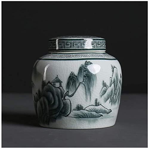 AWAING Urnen für Hunde Tierurne Mini Cremation Urns Pet Mini Urns Adult Funeral Urn Keramik Siegel Feuchtigkeitsbeständige Cremation Urns. Urne Hund