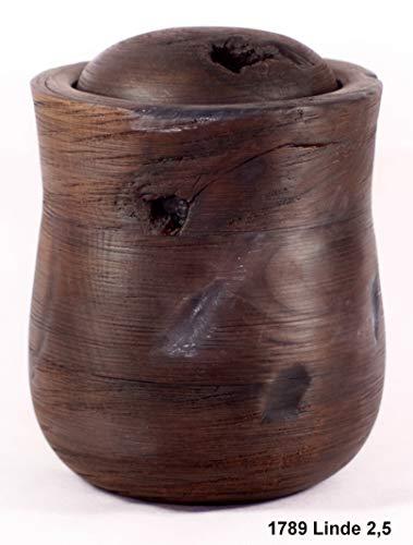 Holzfürdieewigkeit Tierurne 1789 Lindenholz für Tiere bis 60 Kg Lebendgewicht