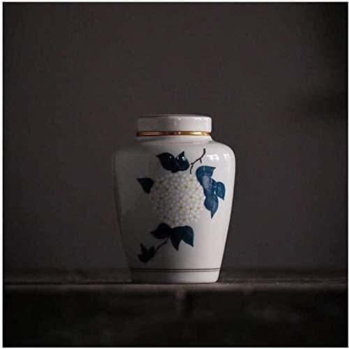 TYHZ Urne Keramikversiegelung Small ure Cremation Urne für Human Ashes-Display-Begräbnisurns zu Hause anweservieren Begräbnisurns Urne Hund (Color : #3)