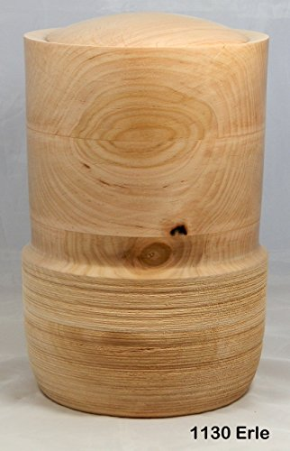 Tierurne 1130 Erlenholz für Tiere bis 50 Kg Lebendgewicht