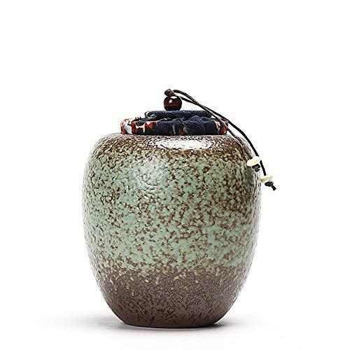SXLZ Urnen Für Asche Medium, Feuerbestattung Urnen Für Haustiere Exquisite Handarbeiten Feuchtigkeitsbeständige Feuerbestattung Urnen Für Hunde Katzen Vögel,B-10.5cm*11.5cm