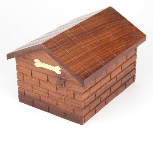 Urns UK Kenilworth Holz-Urne für Haustiere