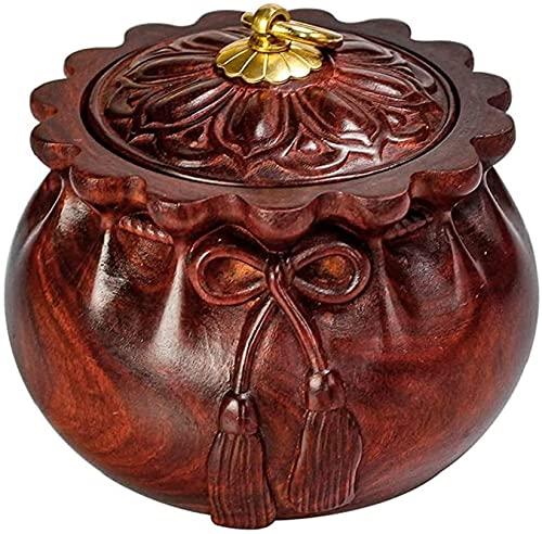 KELITINAus Handgeschnitzte Urnen Für Menschliche Asche, Geeignet Für Menschliche Asche, Erwachsene Kinderstäbchen Urnen Gedenkwürdige Begräbnisurns